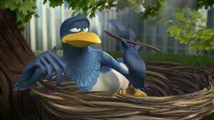 انیمیشن کوتاه و زیبای کلاغ آبی ...