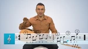 اموزش ساز ترکی باغلاما - بخش ۷