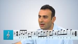 اموزش ساز ترکی باغلاما - بخش ۴