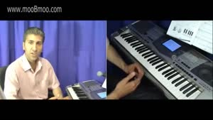 اموزش ساز پیانو - درس ۲