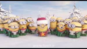 سکانس انیمیشنی مینیون ها به مناسبت کریسمس