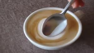اموزش دیزاین قهوه به شکل درخت کریسمس