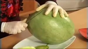 اموزش تزیین سبد هندوانه