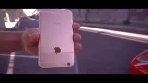 گذر یک فراری از روی iPhone ۶s !!!