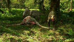 دنیای دایناسورها....و صدای های بسیار ترسناک و وحشتناک
