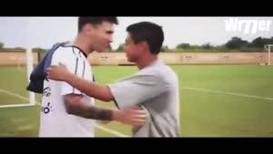 ویدئویی که از مهربانی ۲ ستاره فوتبال محال است که اشک به چشمتان نیاید