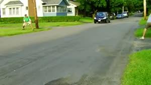 سوتی در پارک کردن خانوم ها
