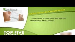 ۵ خاصیت نوشیدن آب