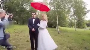 عکس گرفتن عروس خانم