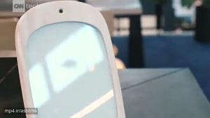آینه ای که با لبخند شما فعال میشود !