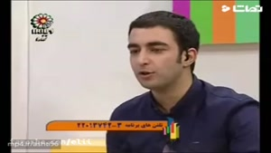 طنز و تقلید صدای بی نظیر در شبکه جام جم توسط حسن ریوندی