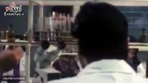 بخشی از فیلم «روزی که خواستگار آمد» با بازی حسن جوهرچی و حمیده خیرآبادی