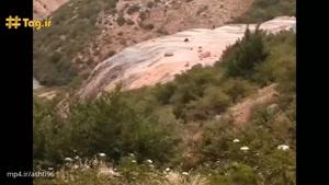 آبشار زیبا ودیدنی شوراب پل سفید در استان مازندران
