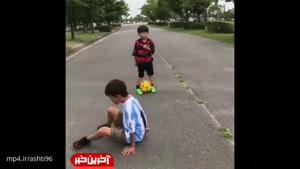 اعجوبه خردسال فوتبال