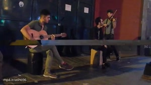 موسیقی خیابانی جوانان در تهران