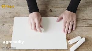 آموزش کشیدن نقاشی مدرن با استفاده از شمع