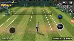 معرفی بازی تنیس برای موبایل