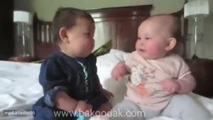 وقتی کودکان با هم حرف میزنند