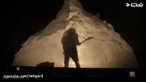 اجرای زنده مازیار فلاحی با آهنگ دروغه