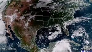 رصد بزرگترین کسوف قرن در آمریکا از فضا
