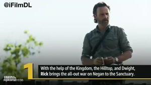 ۵ نکته ی مهم قسمت اول فصل ۸ سریال مردگان متحرک The Walking Dead