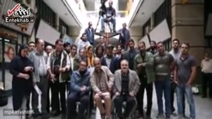 ابراز همدردی اکبر عبدی با زلزله زدگان کرمانشاه