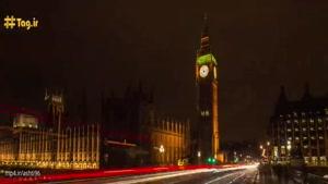 تایم لپس زیبا از مناظر دیدنی و جاذبه های گردشگری لندن