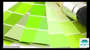 دکوراسیون به سبک رنگ سبز