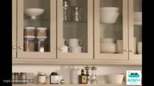 دکوراسیون داخلی آشپزخانه نسبتا کوچک