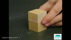 ساخت قاب عکس مکعب روبیک
