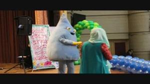 نمایش عروسکی در پنجمین جشنواره آب در بوکان