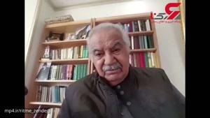ناصر ملک مطیعی از پیام های محبت آمیز مردم تشکر کرد