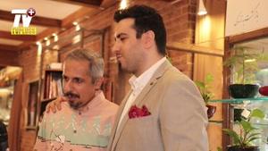گفتگو با امید حاجیلی در مراسم دورهمی جواد رضویان