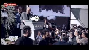 وداع غم انگیز علی نصیریان با داود رشیدی قلب سینما را لرزاند/خون گریه های بازیگر زن در روز خداحافظی