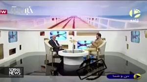 فیلم | عذرخواهی مهدی فخیمزاده به خاطر قهرش در یک برنامه زنده تلویزیونی