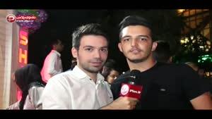جشن تولد غافلگیرانه خواننده مشهور در خیابان سعادت آباد