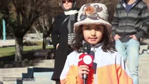 عجیب ترین ویدیوی سال; وقتی دختر و پسرها در خیابان صدای شیر درمی آورند