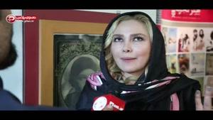 آنا نعمتی از تیپ خبرسازش روی فرش قرمز رُم گفت: خارجی ها به حجابم احترام گذاشتند