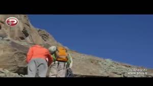 فتح طاقت فرساترین صخره ها تنها با یک پا