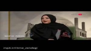 مهران مدیری پیگیر سوتی بامزه نرگس محمدی در مصاحبه تی وی پلاس !