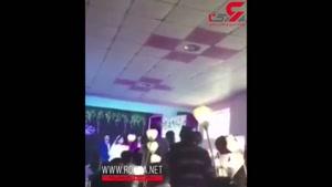 عروسی که سقف محل جشن عروسیش را روی سر مهمانان خراب کرد