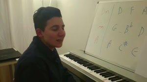 آموزش پیانو به زبان ساده جلسه دوازدهم