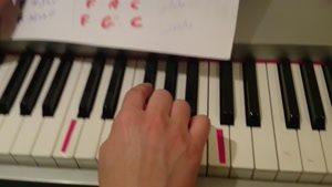 آموزش پیانو به زبان ساده جلسه پنجم