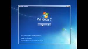 آموزش نصب ویندوز ۷