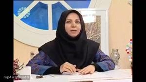 برنامه خانه مهر و آموزش نقاشی با کاردک توسط نجمه نائلی در شبکه جهانی جام جم