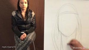چگونه میتوان تصویر یک چهره را طراحی کرد؟