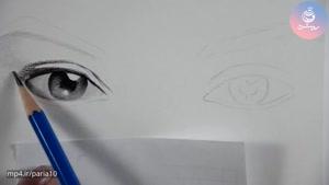 طراحی چهره با مداد لوموگراف - چگونه جذاب نقاشی کنیم؟