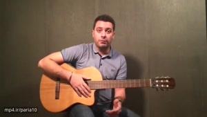آموزش گیتار جلسه دوم بخش اول