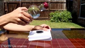 شگفت انگیزترین ترفندهای علمی با مایع