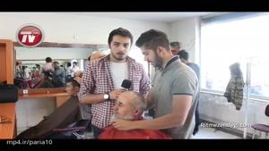کی جرات داره موهاشو تو این سلمونی بزنه؟!/گزارشی از یک آرایشگاه مجانی در تهران